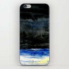 Ocean at Night iPhone Skin