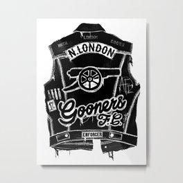 GOONERS FC Metal Print