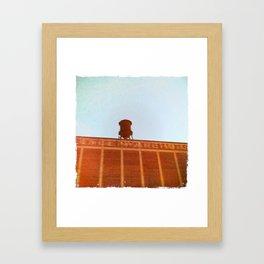 Van Horne Warehouse Framed Art Print