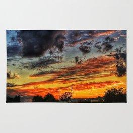 Last Sunset Of Summer Rug