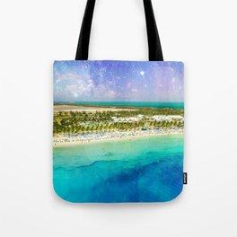 Cosmic Tropics Tote Bag