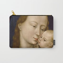 Madonna and Child Rogier van der Weyden Virgin Mary Carry-All Pouch