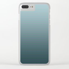 Progressive Stripes Clear iPhone Case