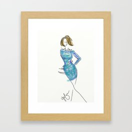 Rough Sketch Framed Art Print