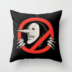 Hollow Gonna Call Throw Pillow
