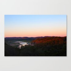 cottage morning Canvas Print
