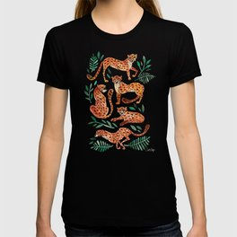 Cheetah Collection – Orange & Green Palette T-shirt