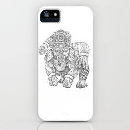 Ganulk iPhone Case