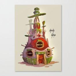 Piñata House Canvas Print