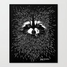 RACCOOL Canvas Print