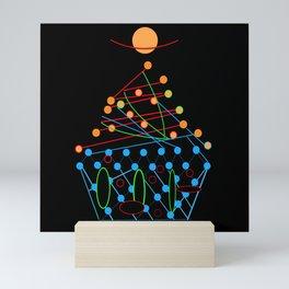 Sci-fi Futuristic Cupcake Mini Art Print