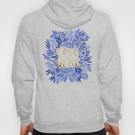 That's Life – Gold & Blue Hoody