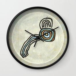 Tribal Maps - Magical Mazes #01 Wall Clock