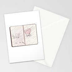 wild hearts can be broken Stationery Cards