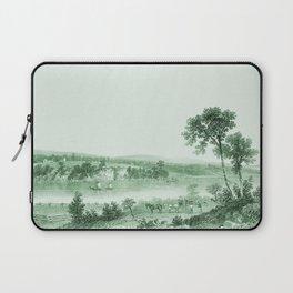 Vintage Lake Champlain  (Green) Laptop Sleeve