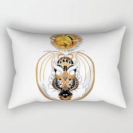 Cosmic Copperhead Dragon Rectangular Pillow