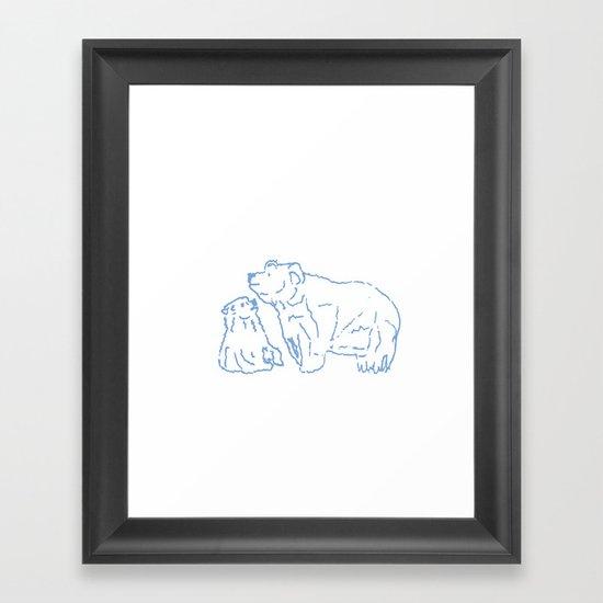 bear 1 Framed Art Print