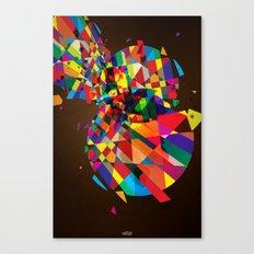 Collapse Canvas Print