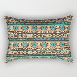 Southwestern navajo ethnic pattern. Rectangular Pillow