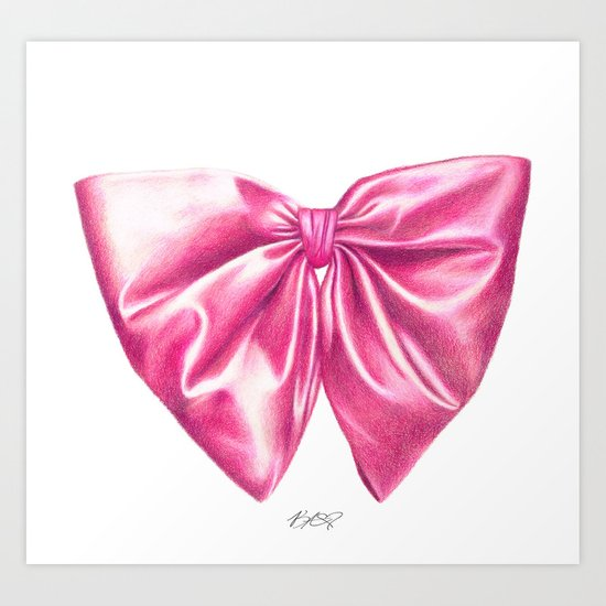 Tied With A Bow Art Print
