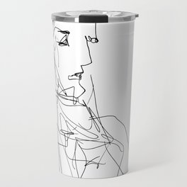 He loved it to sit and think Travel Mug