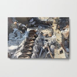 What Remains Metal Print