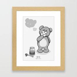 Critter Alliance - Teddy Day Trip Framed Art Print