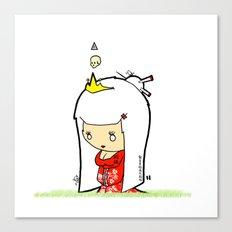 Japanese Princess Canvas Print