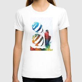 Angel Fish Art - Little Angels 2 - By Sharon Cummings T-shirt