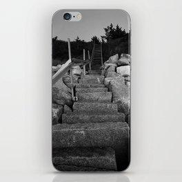 Cape Cod Stairs iPhone Skin