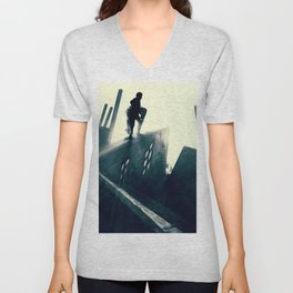 The Cabinet of Dr. Caligari Unisex V-Neck