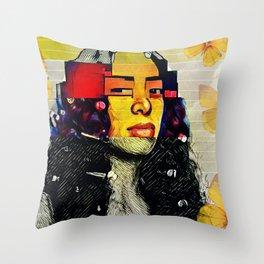 My Mona Lisa Throw Pillow