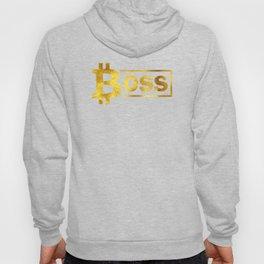 Bitcoin boss #society6 #decor #buyart #artprint Hoody