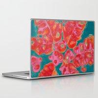 pomegranate Laptop & iPad Skins featuring Pomegranate by bravo la fourmi