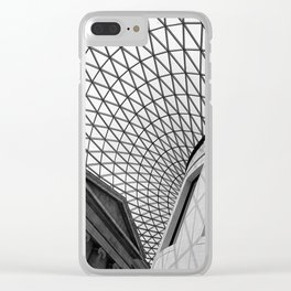 The British Museum Clear iPhone Case