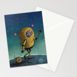Space Walk Stationery Cards
