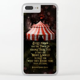 Caraval - Fate Clear iPhone Case