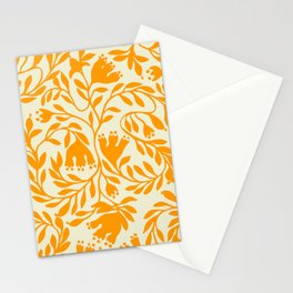 Impression indienne yellow sun. Stationery Cards
