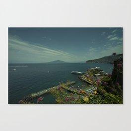Vesuvius Vista Canvas Print