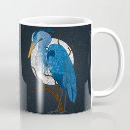 Egret Moon Coffee Mug