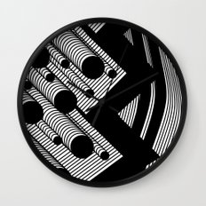 Driving Particles Wall Clock