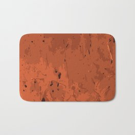 Decay Pattern, Red Rust Bath Mat