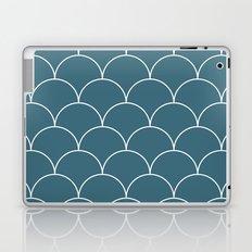 Blue scales Laptop & iPad Skin