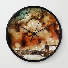 The Blitz, London, WWII Wall Clock