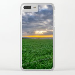 Countryside. Clear iPhone Case