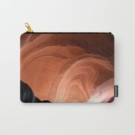 Antelope Canyon Reddish And Blue Tones Carry-All Pouch