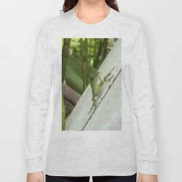 Leaning Lizard Long Sleeve T-shirt
