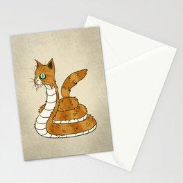 Cat Snake Stationery Cards