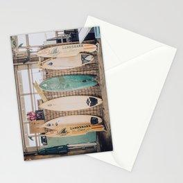 lets surf vii / pensacola beach, florida Stationery Cards