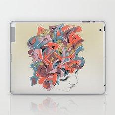 Graffiti Head Laptop & iPad Skin